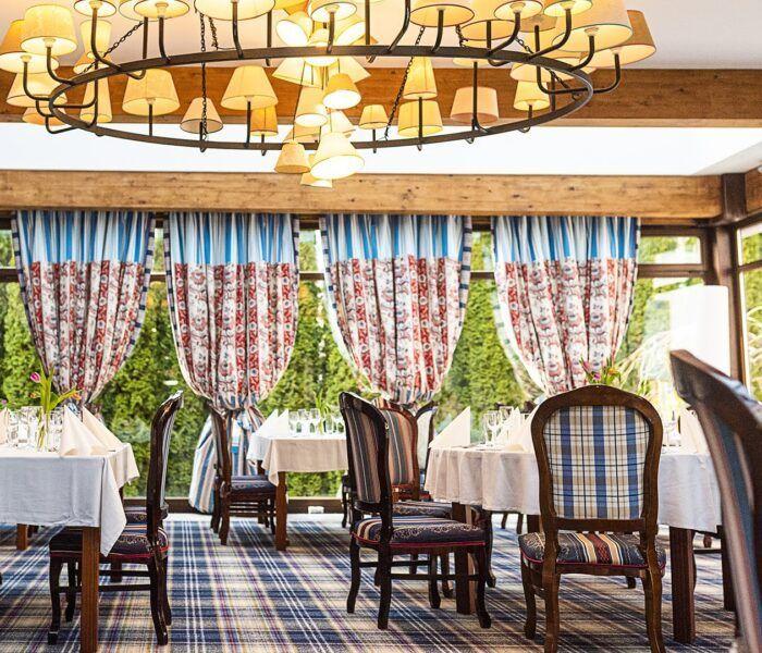 Hotel St. Bruno**** – Restauracja La Bibliotheque